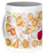 Back Lit Flower Petals  Coffee Mug