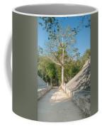 Ball Court At The Coba Ruins  Coffee Mug