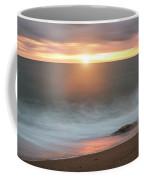 Beautiful Vibrant Sunset Landscape Image Of Burton Bradstock Gol Coffee Mug