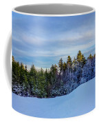 Beautiful Winter Landscape At Timberline West Virginia Coffee Mug