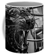 Black Panther Statue Coffee Mug