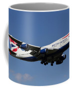 British Airways Boeing 747 Coffee Mug