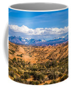Canyon Badlands And Colorado Rockies Lanadscape Coffee Mug