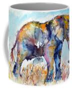 Colorful Cute Elephant Coffee Mug