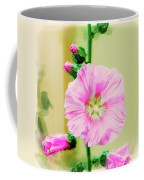 Common Hollyhock  Coffee Mug