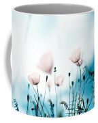 Corn Poppy Flowers Coffee Mug by Nailia Schwarz