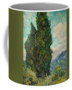 Cypresses Coffee Mug