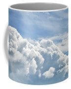 Dramatic Cumulus Clouds With High Level Cirrocumulus Clouds For  Coffee Mug