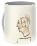 Drawing Of Ancient Sculpture Coffee Mug