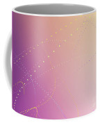 Dynamic And Bright Linear Sphere With Colorful Gradient Coffee Mug