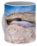 famous Mesa Arch in Canyonlands National Park Utah  USA Coffee Mug