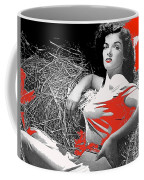 Film Homage Jane Russell The Outlaw 1943 Publicity Photo Photographer George Hurrell 2012 Coffee Mug