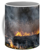 Fires Sunset Landscape Coffee Mug