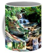 Flowing Water Coffee Mug