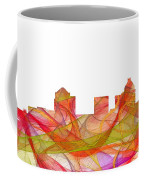 Greensboro North Carolina Skyline Coffee Mug