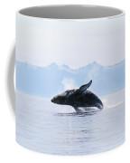 Humpback Whale Breaching Coffee Mug