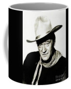 John Wayne, Vintage Actor By Js Coffee Mug