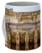 Noto, Sicily, Italy - Detail Of Baroque Balcony, 1750 Coffee Mug