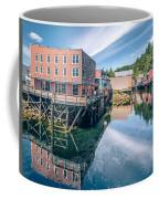 Old Historic Town Of Ketchikan Alaska Downtown Coffee Mug