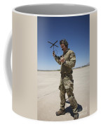 Pararescuemen Conducts A Communications Coffee Mug