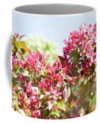 Pink Cherry Flowers Coffee Mug