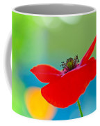 Poppy Coffee Mug by Silke Magino