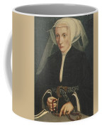 Portrait Of A Lady Holding A Rosary Coffee Mug