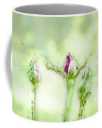 Red Rose Bud Coffee Mug