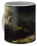 The Angel Appearing To The Shepherds Coffee Mug