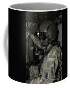 Uh-60 Black Hawk Crew Chief Coffee Mug