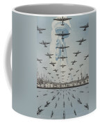 World War II Advertisement Coffee Mug