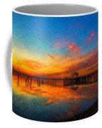 Nature Oil Canvas Landscape Coffee Mug