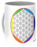 64 Tetra Flower Of Life Coffee Mug