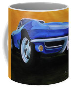 66 Corvette - Blue Coffee Mug