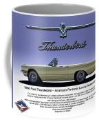 '66 Thunderbird Convertible Coffee Mug