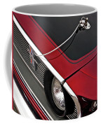 69 Mustang Hood Pin And Grille Coffee Mug