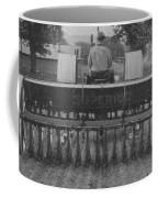A Farmer Driving A Tractor Coffee Mug