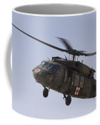 A Uh-60 Blackhawk Medivac Helicopter Coffee Mug