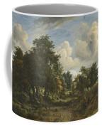 A Wooded Landscape Coffee Mug
