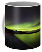 Aurora Borealis Over Iceland Coffee Mug