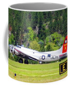B-17 Bomber Taxiing 1 Coffee Mug