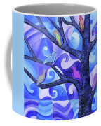 7 Birds On A Tree Coffee Mug