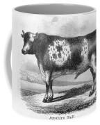 Cattle, 19th Century Coffee Mug