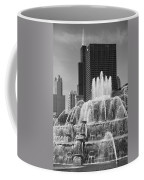Chicago Skyline And Buckingham Fountain Coffee Mug