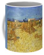 Corn Harvest In Provence Coffee Mug