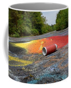 Discarded Spray Paint Can Coffee Mug
