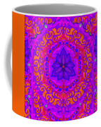 Indian Fabric Pattern Coffee Mug
