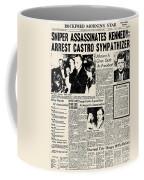 John F. Kennedy (1917-1963) Coffee Mug by Granger