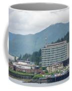 Juneau Alaska Usa Northern Town And Scenery Coffee Mug