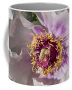 Peony Flower Coffee Mug